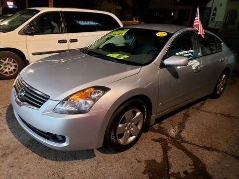 2007 Nissan Altima for sale at Devaney Auto Sales & Service in East Providence RI