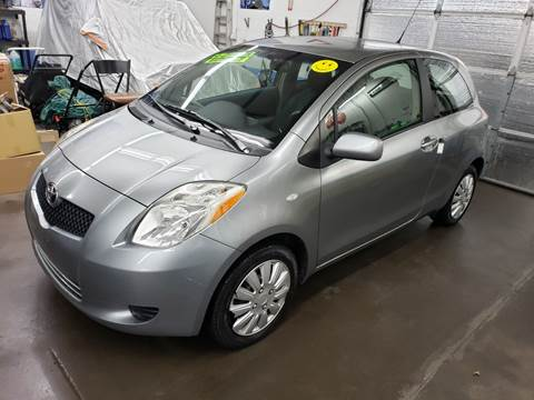 2007 Toyota Yaris for sale at Devaney Auto Sales & Service in East Providence RI
