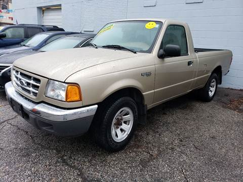 2001 Ford Ranger for sale at Devaney Auto Sales & Service in East Providence RI