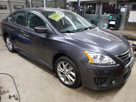 2013 Nissan Sentra for sale at Devaney Auto Sales & Service in East Providence RI