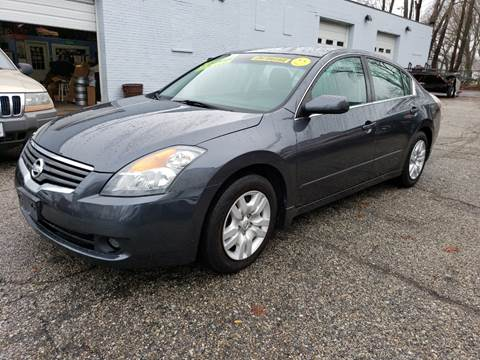 2009 Nissan Altima for sale at Devaney Auto Sales & Service in East Providence RI