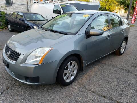 2007 Nissan Sentra for sale at Devaney Auto Sales & Service in East Providence RI