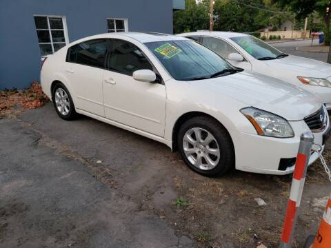 2008 Nissan Maxima for sale at Devaney Auto Sales & Service in East Providence RI
