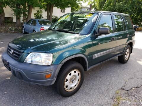 2001 Honda CR-V for sale at Devaney Auto Sales & Service in East Providence RI