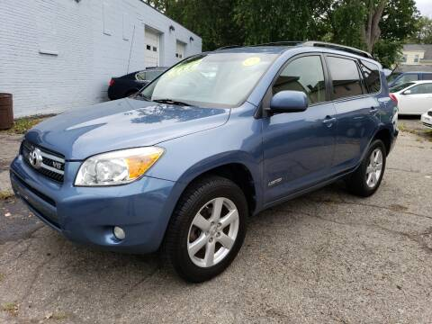 2008 Toyota RAV4 for sale at Devaney Auto Sales & Service in East Providence RI