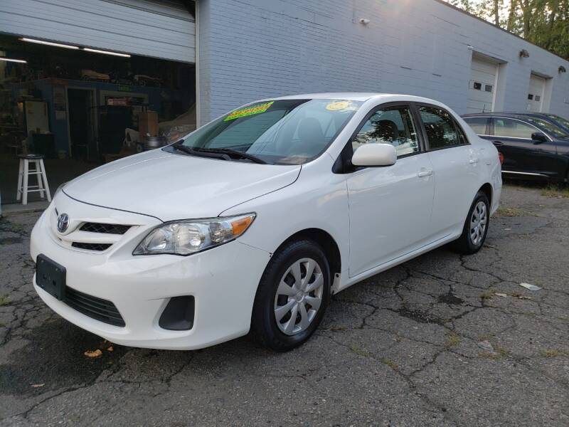 2011 Toyota Corolla for sale at Devaney Auto Sales & Service in East Providence RI