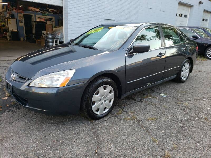 2004 Honda Accord for sale at Devaney Auto Sales & Service in East Providence RI