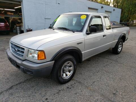 2002 Ford Ranger for sale at Devaney Auto Sales & Service in East Providence RI