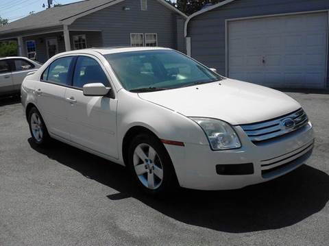 2008 Ford Fusion for sale at Marty's Auto Sales in Lenoir City TN