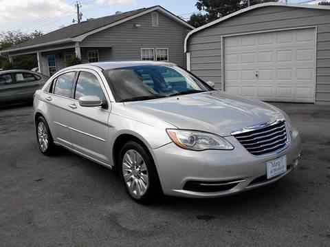 2012 Chrysler 200 for sale in Lenoir City, TN