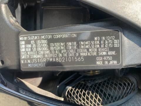 2013 Suzuki GSX-R750L1