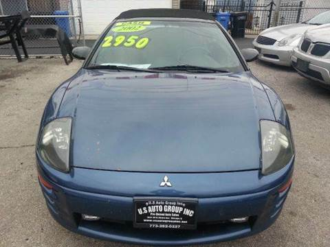 2002 Mitsubishi Eclipse Spyder for sale at U.S. Auto Group in Chicago IL