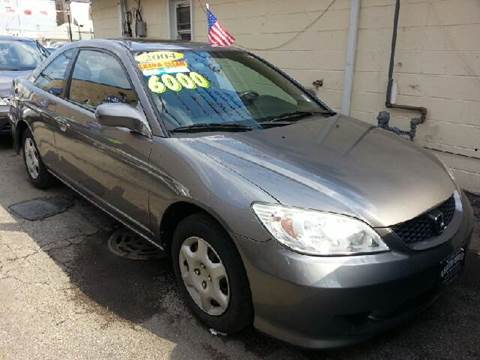 2004 Honda Civic for sale at U.S. Auto Group in Chicago IL