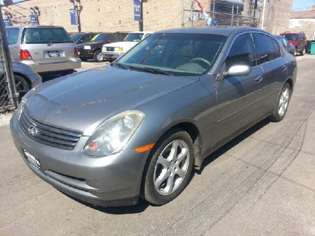 2004 Infiniti G35 for sale at U.S. Auto Group in Chicago IL