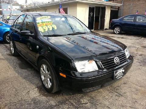 2003 Volkswagen Jetta for sale at U.S. Auto Group in Chicago IL