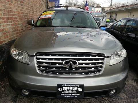 2003 Infiniti FX35 for sale at U.S. Auto Group in Chicago IL
