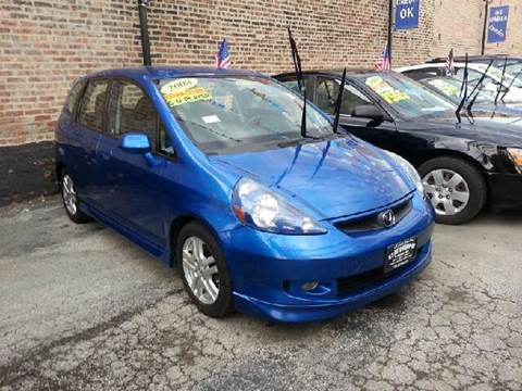 2008 Honda Fit for sale at U.S. Auto Group in Chicago IL