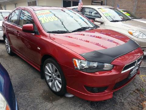 2008 Mitsubishi Lancer for sale at U.S. Auto Group in Chicago IL