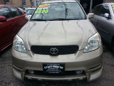 2003 Toyota Matrix for sale at U.S. Auto Group in Chicago IL