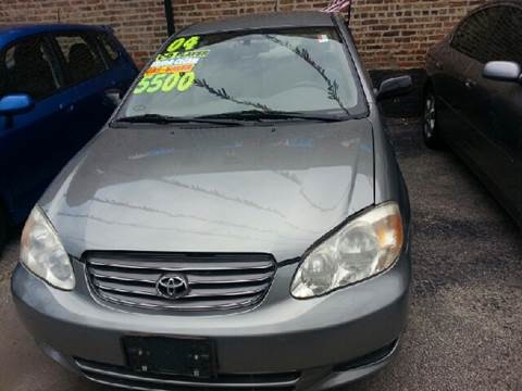 2004 Toyota Corolla for sale at U.S. Auto Group in Chicago IL