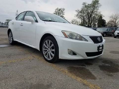 2007 Lexus IS 250 for sale at U.S. Auto Group in Chicago IL