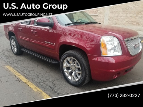 2007 GMC Yukon XL for sale at U.S. Auto Group in Chicago IL