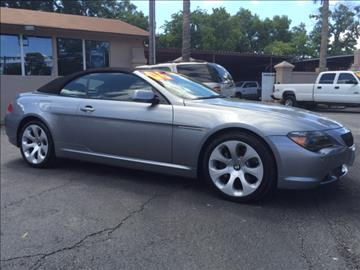 BMW 6 Series For Sale in San Antonio TX  Carsforsalecom