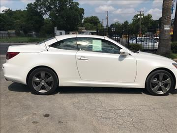 2010 Lexus IS 250C for sale in San Antonio, TX