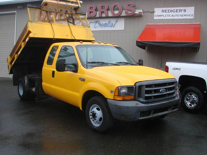 1999 Ford F-350 Super Duty DUMP for sale at Dorn Brothers Truck and Auto Sales in Salem OR
