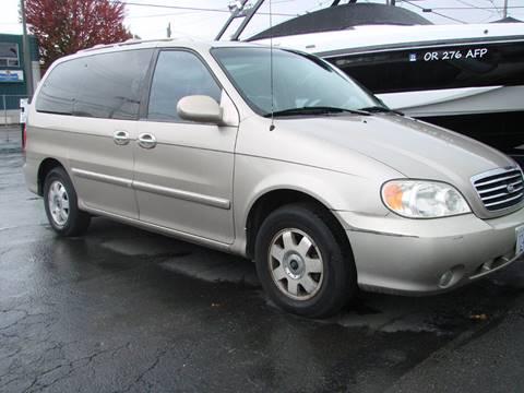 2002 Kia Sedona for sale in Salem, OR