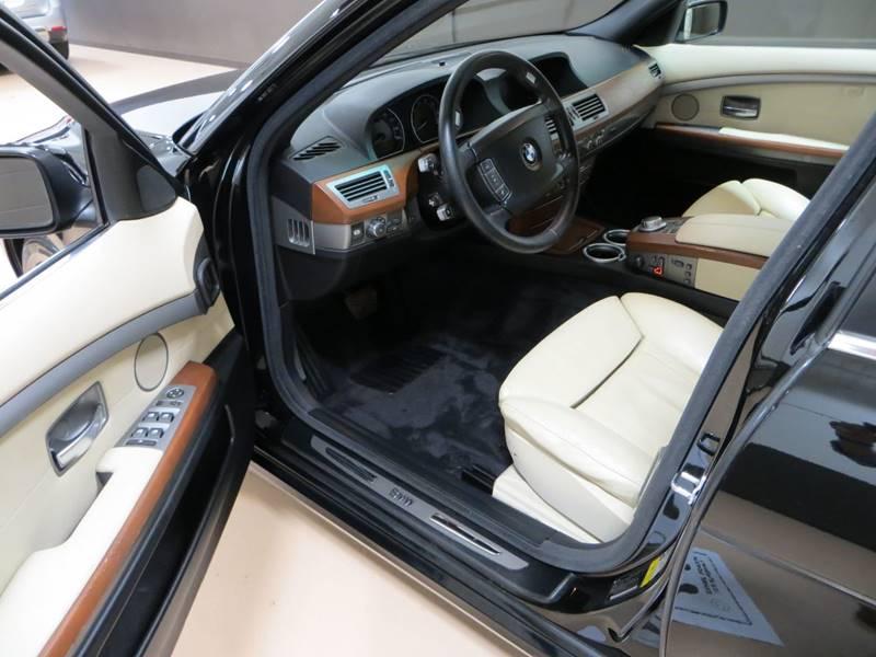 2008 BMW 7 Series 750i 4dr Sedan - Farmington Hills MI