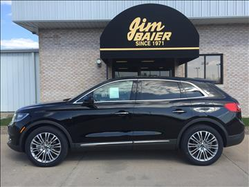 2016 Lincoln MKX for sale in Fort Madison, IA
