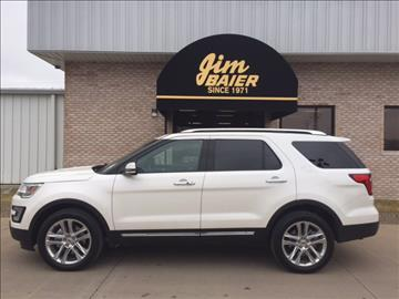 2017 Ford Explorer for sale in Fort Madison, IA