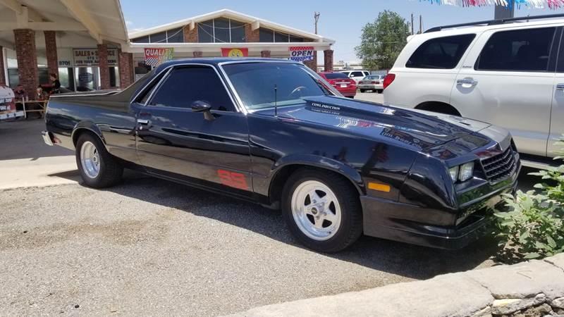 Chevrolet El Paso >> 1984 Chevrolet El Camino 2dr Ss Standard Cab In El Paso Tx