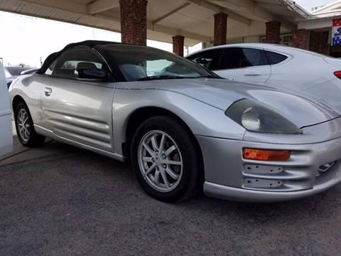 2002 Mitsubishi Eclipse Spyder for sale in El Paso, TX