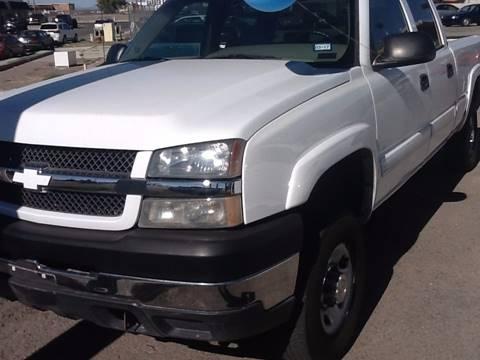 2005 Chevrolet Silverado 2500HD for sale in El Paso, TX