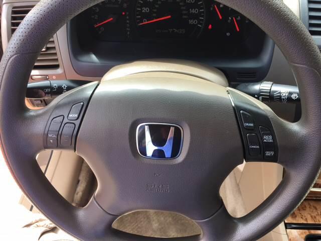 2003 Honda Accord EX 4dr Sedan - Madison WI
