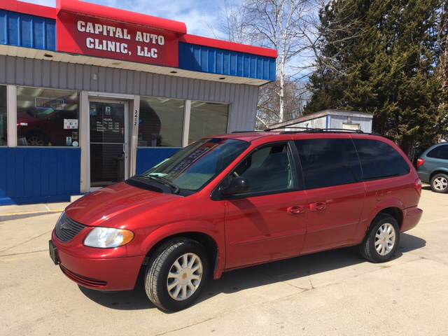 2002 Chrysler Town And Country Lx 4dr Extended Mini Van