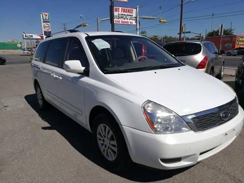 2011 Kia Sedona for sale in El Paso, TX