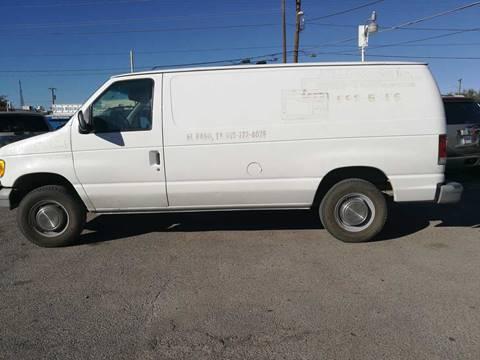 1999 Ford E-250 for sale in El Paso, TX