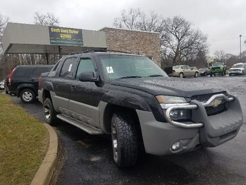 2002 Chevrolet Avalanche for sale in Elkhart, IN