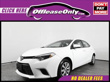 2015 Toyota Corolla for sale in Orlando, FL