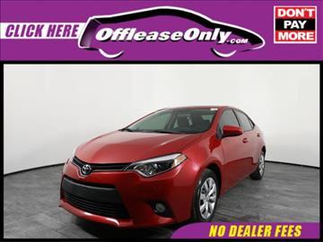 2014 Toyota Corolla for sale in Orlando, FL