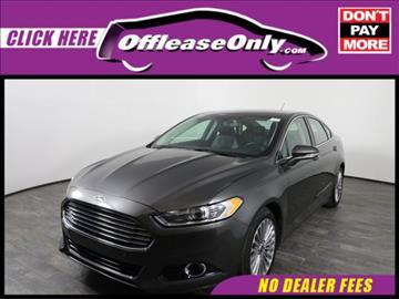 2016 Ford Fusion for sale in Orlando, FL