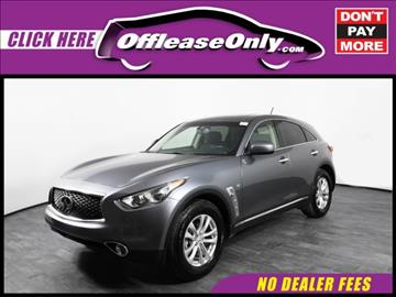 2017 Infiniti QX70 for sale in Orlando, FL