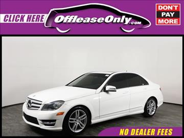 2013 Mercedes-Benz C-Class for sale in Orlando, FL