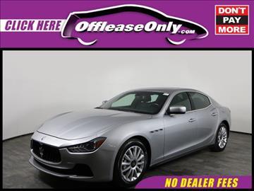 2014 Maserati Ghibli for sale in Orlando, FL