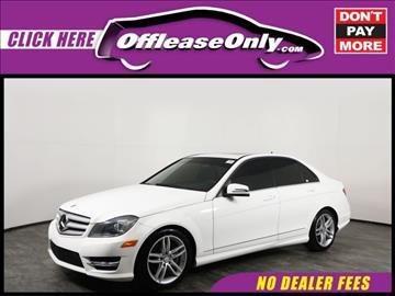 2013 Mercedes-Benz C-Class for sale in Orlando, FL