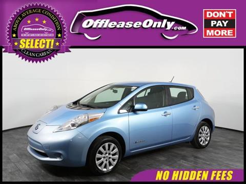 2015 Nissan LEAF for sale in Orlando, FL