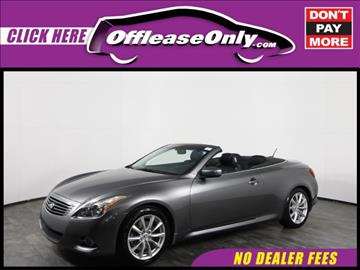 2013 Infiniti G37 Convertible for sale in Orlando, FL